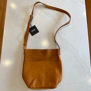 ABLE Selam Crossbody Bag in Cognac